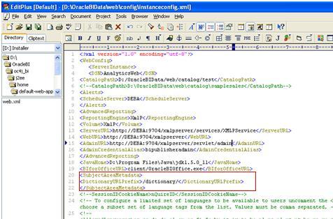 Metadata Dict3