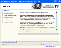 Oracle Fusion Middleware Installation5