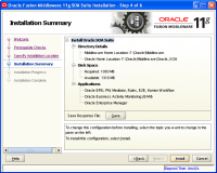 Oracle Fusion Middleware Installation8