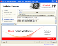 Oracle Fusion Middleware Installation9