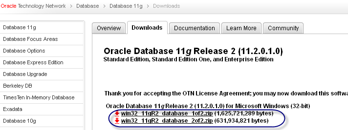 Oracle Database 11g R2 Installation (1/6)