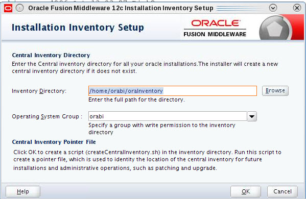 obiee 12c obiee 12 2 1 0 0 installation guide on linux platform d rh debaatobiee wordpress com weblogic 11g installation guide on linux Linux Installation Step by Step